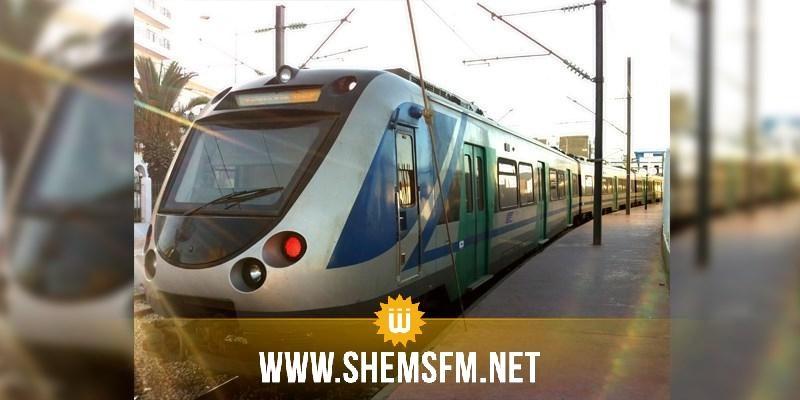 المنستير: خروج ''مترو الساحل'' عن السكة دون تسجيل أضرار بشرية