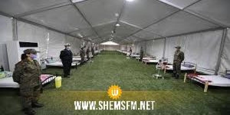 قابس: تركيز مستشفى ميداني ومخبر عسكري متنقل للتحاليل الجرثومية