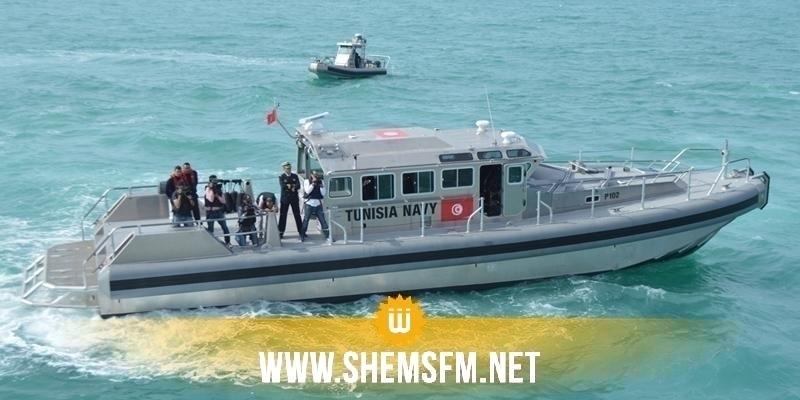 جربة: جيش البحر ينقذ 7 تونسيين من الغرق