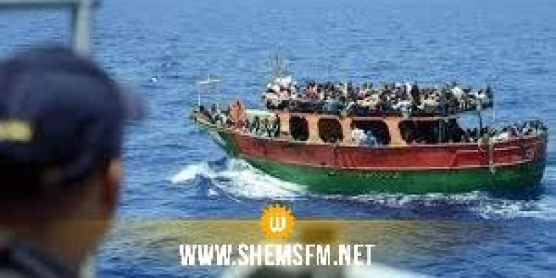 وحدات جيش البحر تنقذ 9 مهاجرين غير نظاميين من الغرق بجهة قليبية