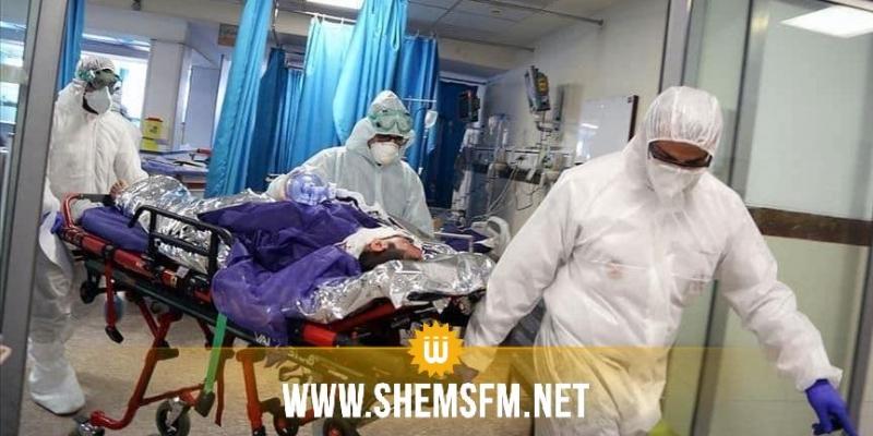 إرتفاع عدد المصابين بكورونا في المستشفيات