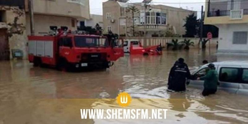 المدير الجهوي للحماية المدنية في سوسة يدعو ''لإعادة النظر في البنية التحتية وقنوات تصريف المياه''