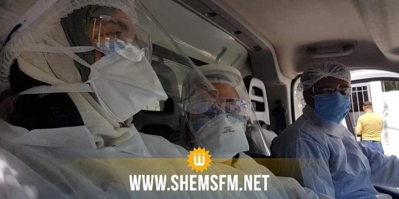نابل: إصابة 6 إطارات طبية وشبه طبية بوحدة SAMU بكورونا