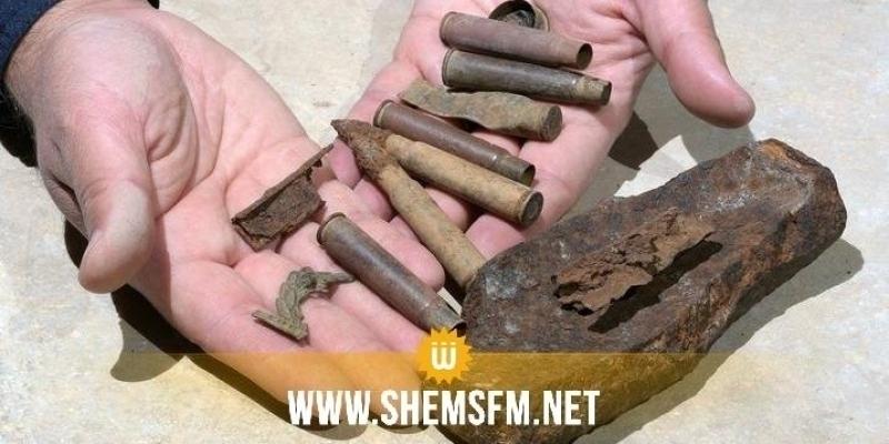 Gafsa: 500 munitions datant de la Seconde guerre mondiale trouvées à Al Gtar