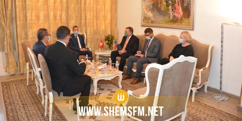 لقاء بين وزير الداخلية والسفير الأمريكي والتأكيد على مزيد التنسيق لمجابهة الإرهاب