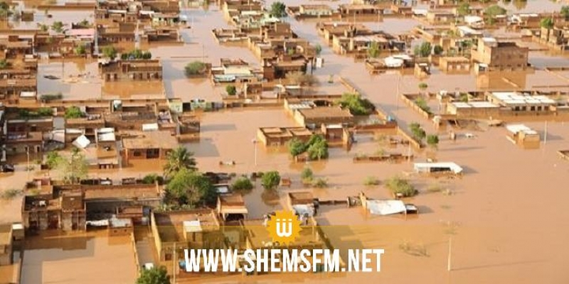السودان.. ارتفاع عدد ضحايا الفيضانات والسيول إلى 121 شخصا