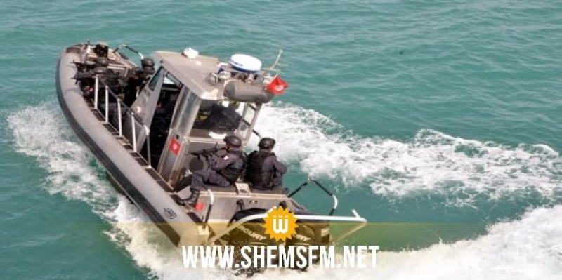 جزيرة جالطة: جيش البحر ينقذ 7 جزائريين من الغرق
