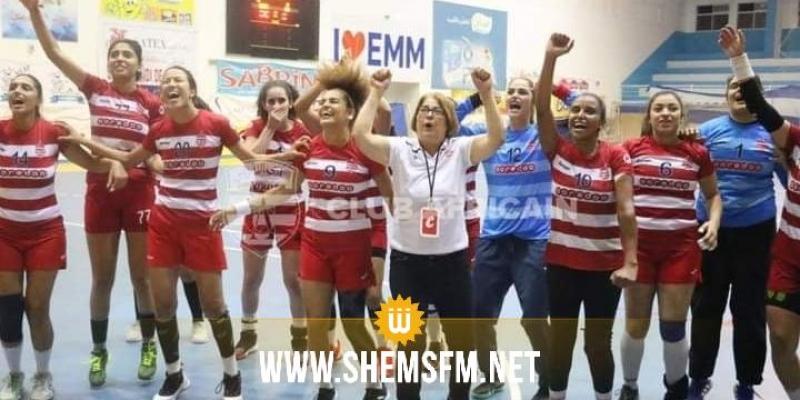 كرة اليد : النادي الإفريقي يتأهل إلى الدور النهائي لكأس تونس للسيدات