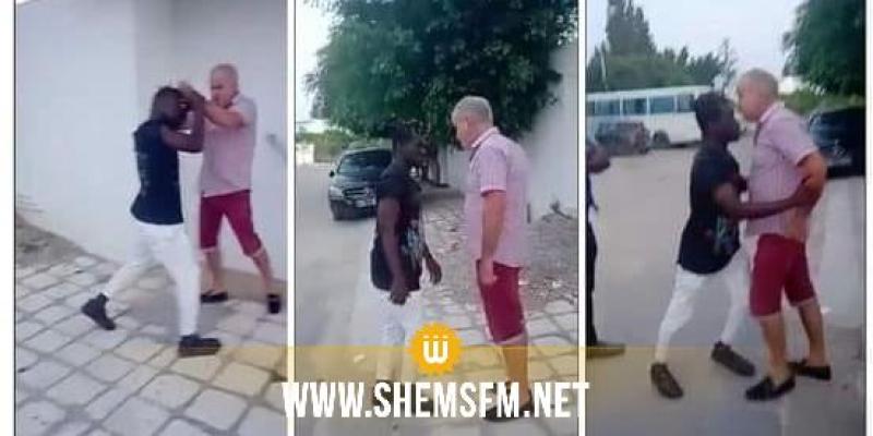 فيديو يوثق اعتداء رجل على شاب إفريقي: النيابة العمومية بسوسة 2 تستدعي المعتدي للتحقيق
