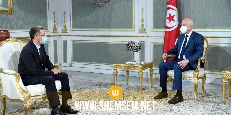 رئيس الجمهورية يؤكد لوزير الداخلية ضرورة النأي بالمرفق العام الأمني عن التجاذبات السياسية