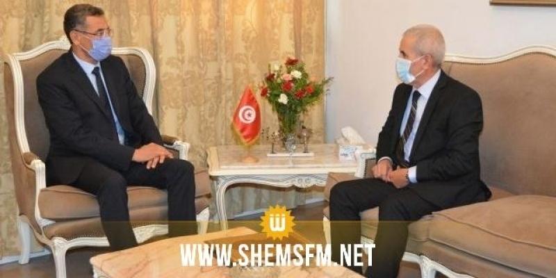 Le ministre de l'Intérieur rencontre le ministre de la Défense