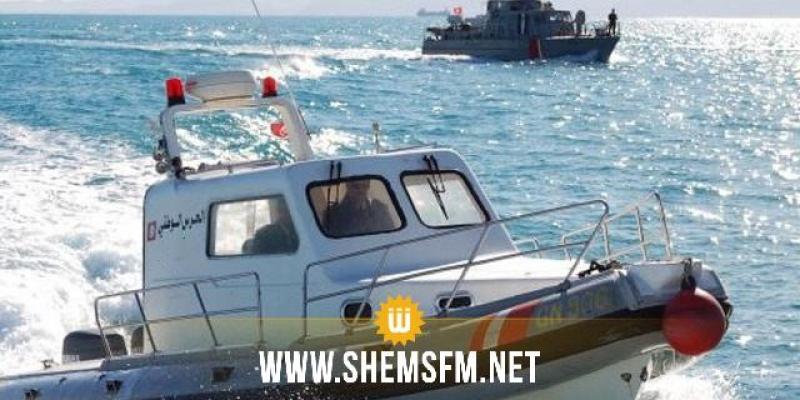 هجرة غير نظامية: الحرس البحري ينقذ 32 شخصا ويلقي القبض على 61 آخرين