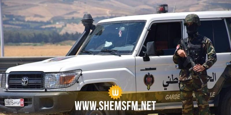 سيدي علي بن عون: حجز بدلات عسكرية وبندقيتي صيد