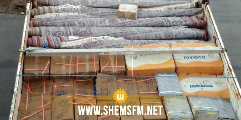 Saisie de marchandises de contrefaçon d'une valeur de 280 mille dt