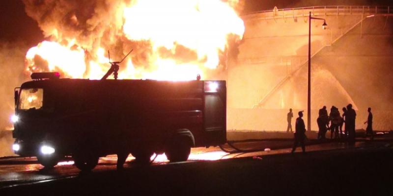 سوسة: اندلاع حريق في مولد الكهرباء بالستاغ بسيدي عبد الحميد