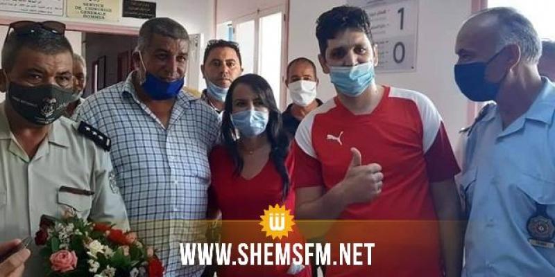 بعد تماثله للشفاء: وكيل الحرس الوطني رامي الإمام يغادر مستشفى سهلول