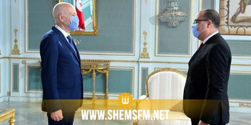 سعيّد يكلّف المشیشي بالإشراف علی مباراة الدور النهائي لكأس تونس لكرة القدم