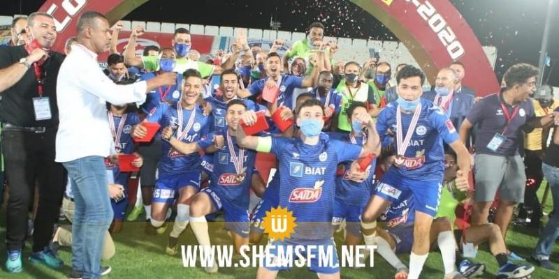لأول مرة في تاريخه: الاتحاد المنستيري يتوج بكأس تونس