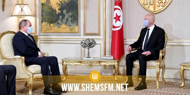 بوقادوم بعد لقائه سعيّد: الاتفاق على مواصلة الجهود المشتركة للدفع بمسار الحل السياسي في ليبيا بعيدا عن التدخلات الأجنبية