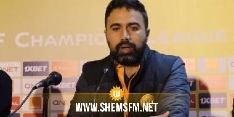 الترجي: عثمان النجار يعلن إصابته بفيروس كورونا