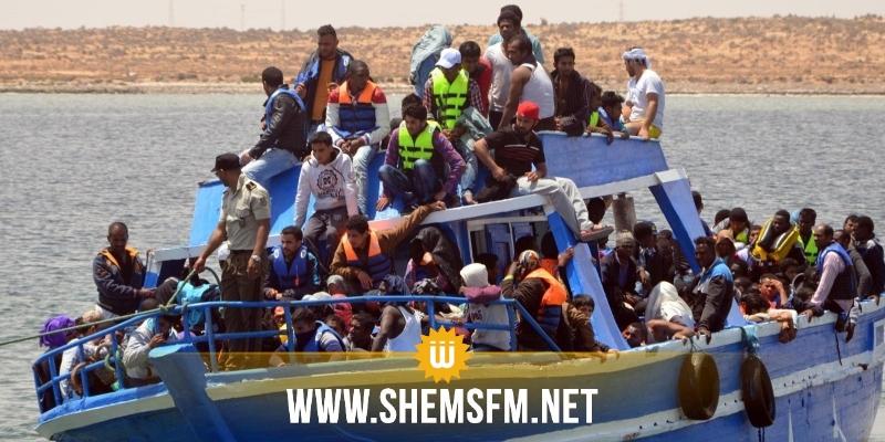 بن قردان:  إمرأة  تضع مولودها في عرض البحر خلال عملية حرقة