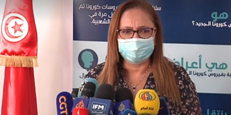 Nissaf ben Alaya insiste sur le port du masque, notamment dans les espaces fermés