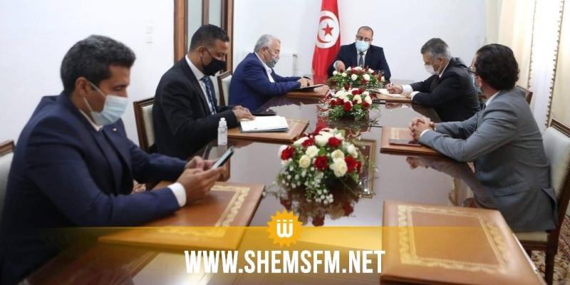 رئيس الحكومة يلتقي ممثلي حركة النهضة وقلب تونس وائتلاف الكرامة