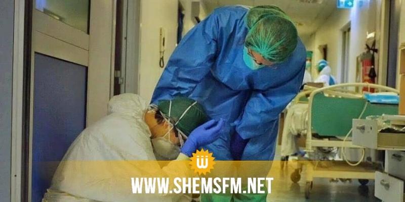 المنستير: إصابة 8 إطارات طبية وشبه طبية بأقسام الإنعاش بكورونا