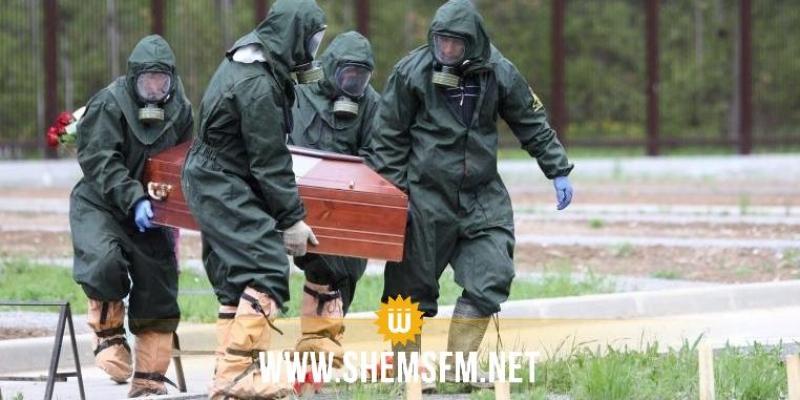 روسيا: 279 وفاة و14922 إصابة جديدة بفيروس كورونا خلال 24 ساعة