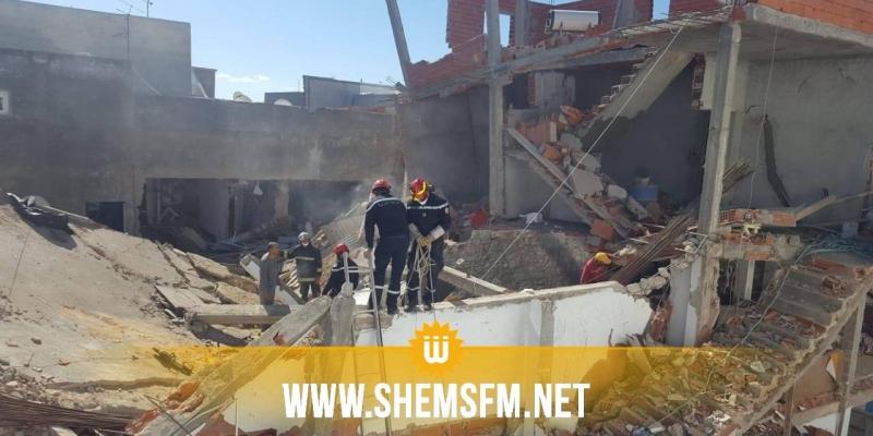 حي الزهور: انفجار قارورة غاز والبحث  جاري عن أشخاص قد يكونون تحت الأنقاض