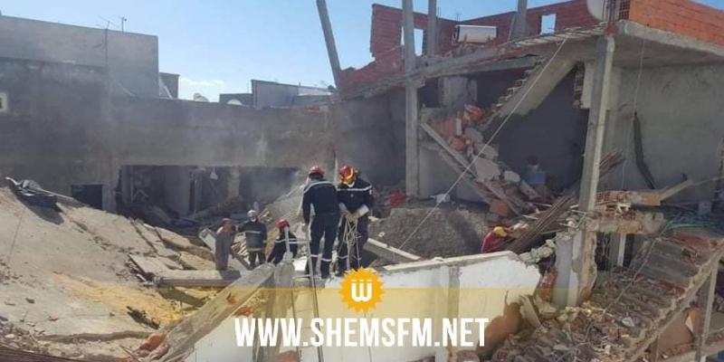 انفجار قارورة غاز بحي الزهور: العثور على جثة ثالثة لإمرأة