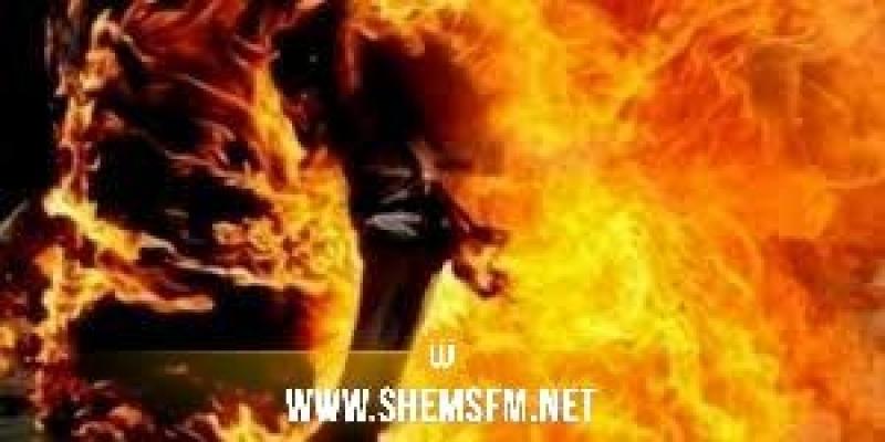 جندوبة: شاب يضرم النار في جسده أمام مقر الولاية