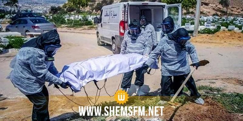 القصرين: تسجيل حالة وفاة جديدة بفيروس كورونا