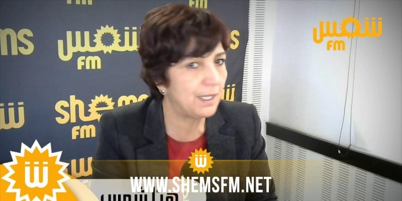 سامية عبو:''تأجيل النظر في تنقيح المرسوم 116 أعتبره إلغاء وهو سقط بصيغته الحالية''