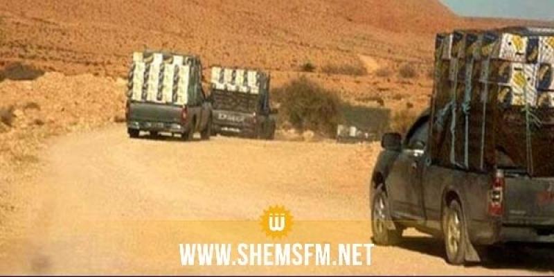 Trois véhicules de contrebande, sans plaques d'immatriculation, interceptés à Tataouine