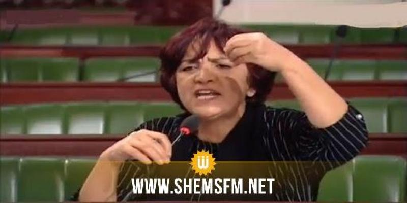 سامية عبو تؤكد إصرارهم على أن تكون للمعارضة تمثيلية في رئاسة البرلمان