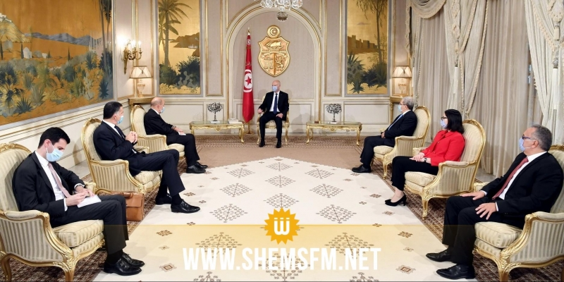 رئيس الدولة يؤكد انه  في ''حال وجود ضرورة لتدخل دول أخرى في ليبيا فليس في هذه المرحلة''