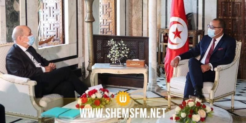 الإعداد لإجتماع مجلس التعاون التونسي الفرنسي في مارس 2021 من بين محاور لقاء المشيشي بجون إيف لودريان