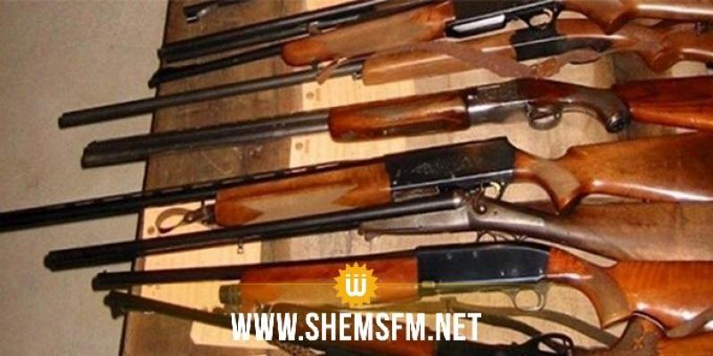 سليانة: العثور على ورشة لصنع بنادق الصيد وحجز عدد هام من المعدات بالروحية