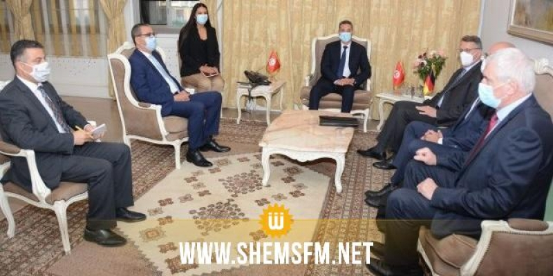 وزير الداخلية والسفير الألماني يؤكدان استعدادهما للنهوض بالتعاون المشترك في مجابهة الإرهاب وأمن الحدود