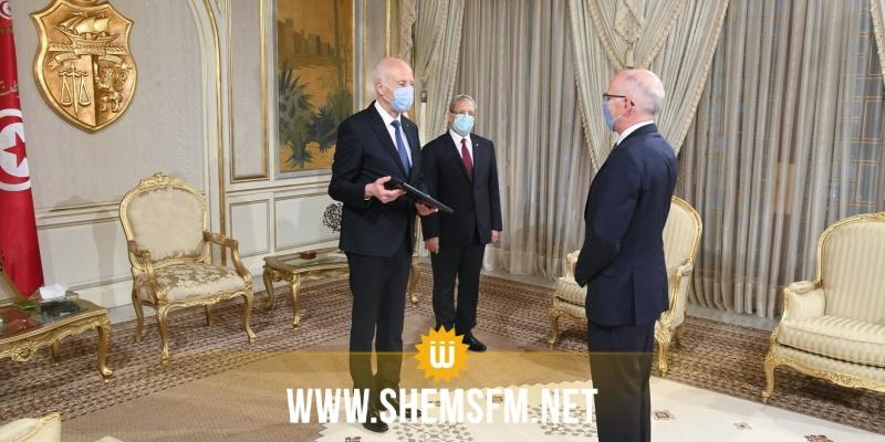 رئيس الجمهورية يتسلم أوراق اعتماد ثلاثة سفراء جدد