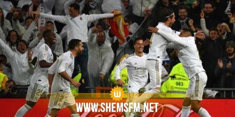 ريال مدريد يكتسح برشلونة بثلاثية
