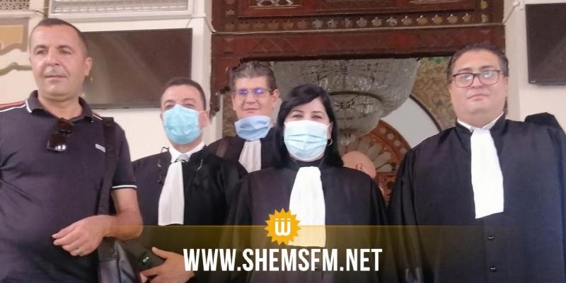 عبير موسي: ''إيداع نيابة 12محامي في قضية ايقاف اشغال دورة الاتحاد العالمي لعلماء المسلمين بتونس''