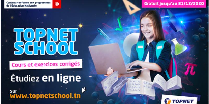 Tunisia Digital Summit : TOPNET consolide ses solutions digitales par le lancement du service « TOPNET School »