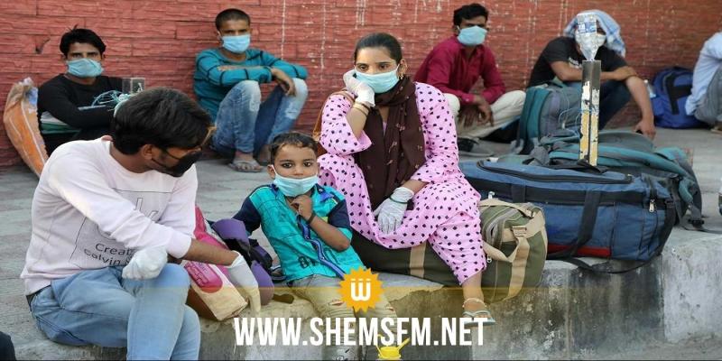 الهند: عدد المصابين بكورونا يتخطى 8 ملايين حالة