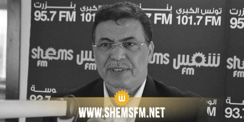 Bouali Mbarki, secrétaire général adjoint de l'UGTT, n'est plus