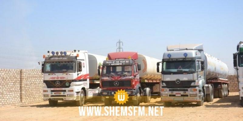 وزارة النقل تواصل السماح لعربات نقل البضائع بالتنقل خلال فترة حظر الجولان