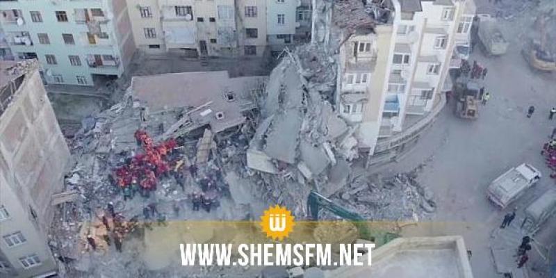 Puissant séisme en Turquie : plusieurs immeubles s'effondrent