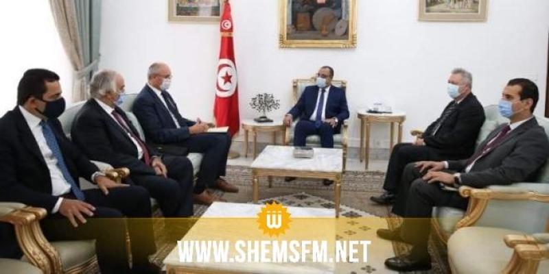 Le Chef du gouvernement s'entretient avec les représentants des entreprises étrangères installées en Tunisie
