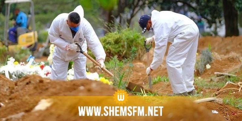 تونس تُسجل 64 حالة وفاة و 1784 إصابة جديدة بفيروس كورونا خلال يوم